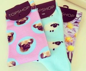 fashion, socks, and topshop image