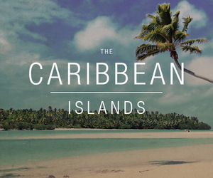Caribbean, Island, and summer image
