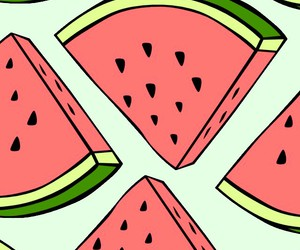 fruit, watermelon, and phone wallpaper image