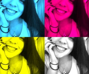 me, smile, and webcam toy image