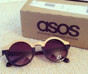 sunglasses, glasses, and asos image
