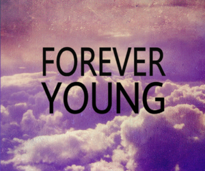 forever, sky, and young image