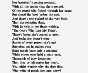 bookshelf, girl, and heart image