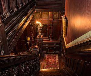antique, staircase, and stairs image