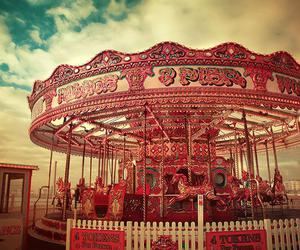 carousel and pink image