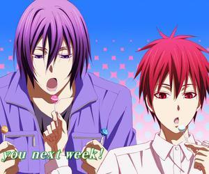 kuroko no basket, anime, and murasakibara atsushi image