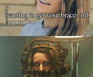 braces and funny image