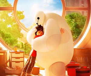 disney, baymax, and pixar image