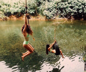 summer, friends, and fun image