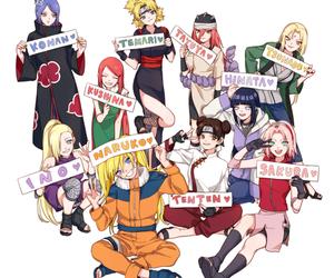 hinata, ino, and sakura image