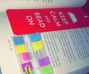 bookmark, books, and calm image