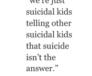 depression and suicide image