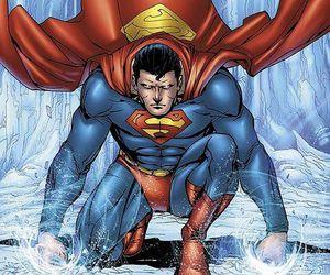 clark kent, superhero, and dc comics image