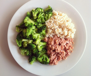 healthy and rice image