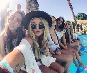 feet, coachella, and gigi hadid image