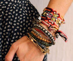 fashion, bracelets, and style image