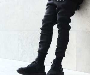 black, ghetto style, and look image