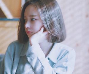 girl, cute, and korean image
