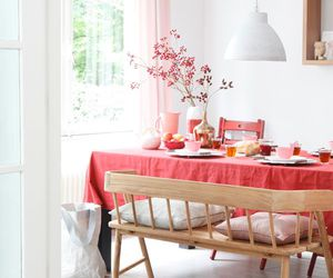 home, kitchen, and pink image