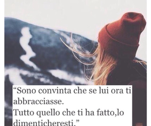 abbraccio, dimenticare, and frasi italiane image