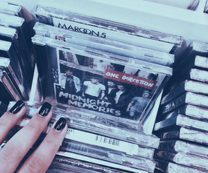 one direction, grunge, and music image