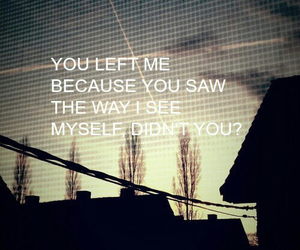 sad, grunge, and quote image