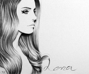 lana del rey, drawing, and lana image