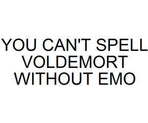 emo, funny, and harry potter image