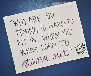 quote, stand out, and text image