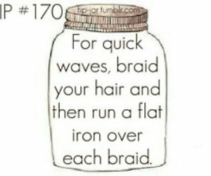 hair, tips, and waves image