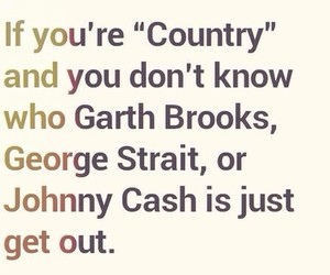 country, Johnny Cash, and george strait image