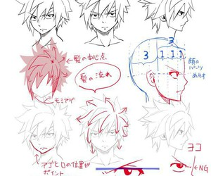 fairy tail, anime, and drawing image
