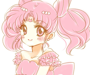 anime, pink, and cute image