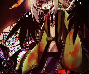 mogeko, obsolete dream, and scary demon image