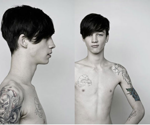Ash Stymest, tattoo, and love it image