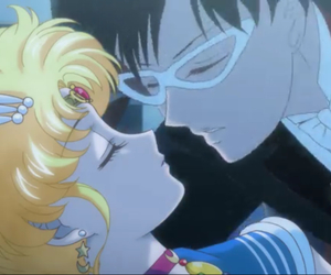 animation, kiss, and cute image