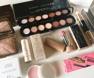 makeup, lipstick, and marc jacobs image