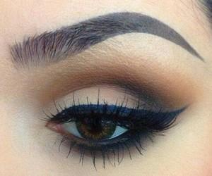 cosmetics, eyebrows, and eyes image