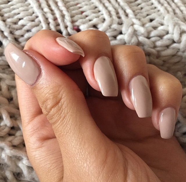 From naked nails