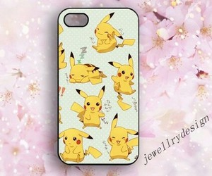 anime, pikachu, and phone case image