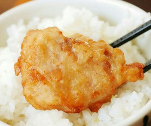 rice, Chicken, and food image