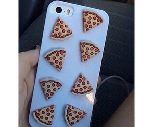 food, phone case, and pizza queen image
