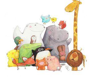 animal, illustration, and cute image