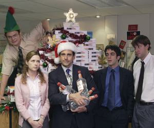 the office, christmas, and dwight image