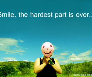 over, quote, and smile image