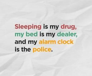 drugs, sleep, and bed image