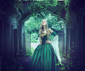 fashion, green, and woods image