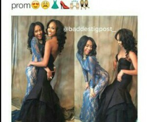 Prom, best friend, and dress image