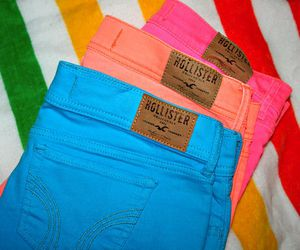 hollister, fashion, and blue image