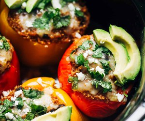cheese, healthy, and pepper image